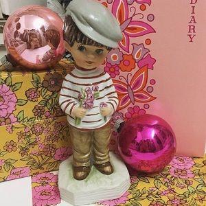 Vintage 1973 Boy Moppet Figurine